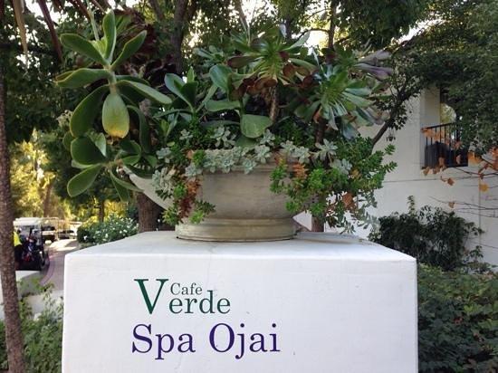 Ojai Valley Inn & Spa: entrance to spa
