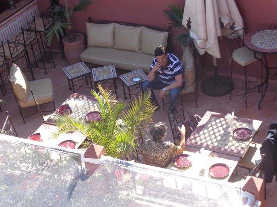 Riad d'Airain Marrakech: Terrace