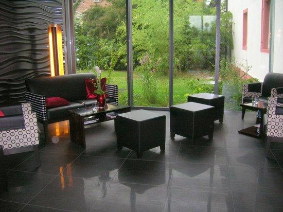 Hotel Schloss Reinach: Atrio
