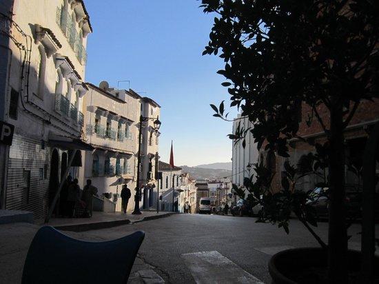 Pizzeria Mandala : terraza