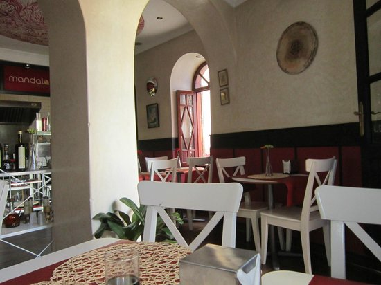 Pizzeria Mandala: interior