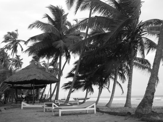 Kuntul, Γκάνα: The beach