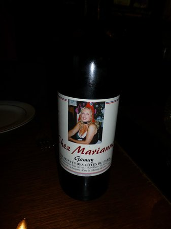 Chez Marianne : House Wine