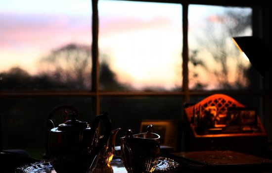 Garfield House - Your Place in the Country: View from the cosy Lounge
