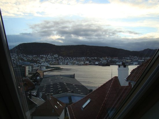 Amunds Appartement: View over Bergen from apartment