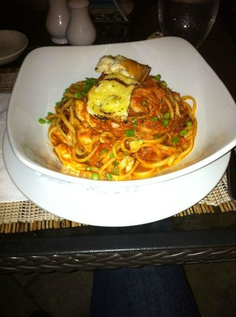 Ocean Two Resort & Residences: Entree - Seafood Linguini