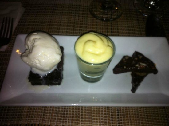 Ocean Two Resort & Residences: Dessert - Chocolate Trio
