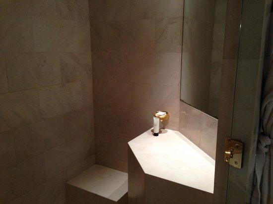 Park Hyatt Paris - Vendome : Vanity Area in Shower
