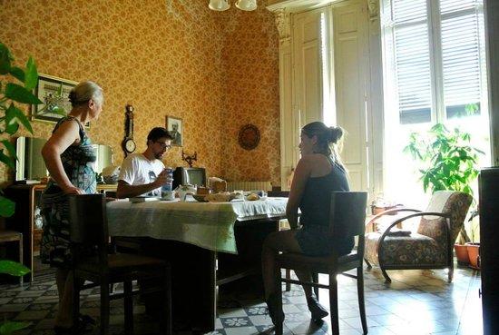 B&B Castello Vecchio : Breakfast time