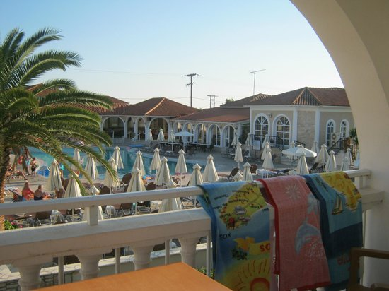 Marelen Hotel: view from our balcony