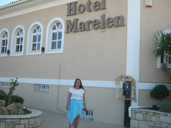 Marelen Hotel: outside reception