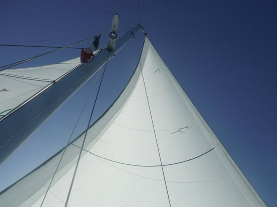 Cozumel Sailing : Sailing on the Tucan in Cozumel