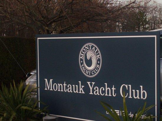 Montauk Yacht Club Resort & Marina : Entrance Sign