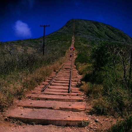 Koko Crater Trail: Waaaah ... I didn't complete the climb and I really wanted to. Do not bring children here becaus