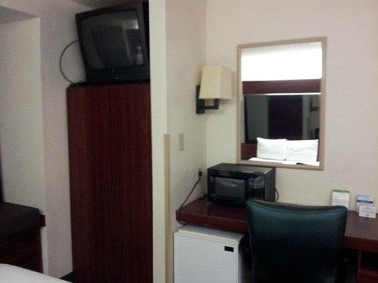Microtel Inn & Suites by Wyndham Atlanta Airport: Tv
