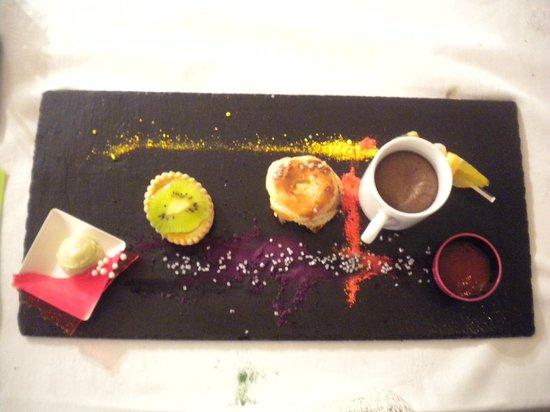 Hotel des Vosges : dessert gourmand