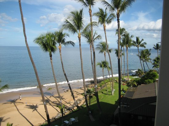The Hale Pau Hana : View from our Balcony