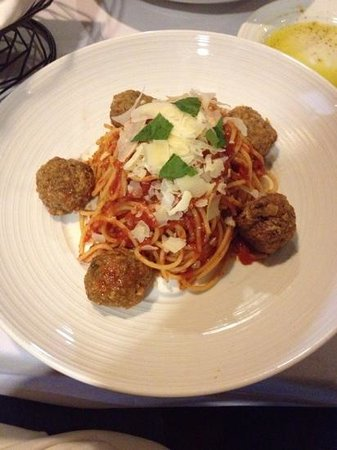 Woodland Park, CO: spaghetti and meatballs