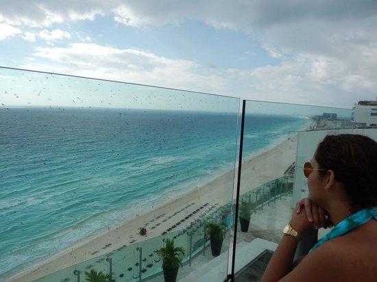 Beach Palace: vista linda