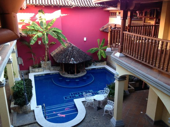 Hotel Colonial : One of the 2 pool areas