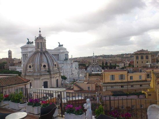 Pace Elvezia: Vista desde la terraza
