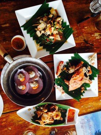 Koh Mak Seafood: Seafood Dinner