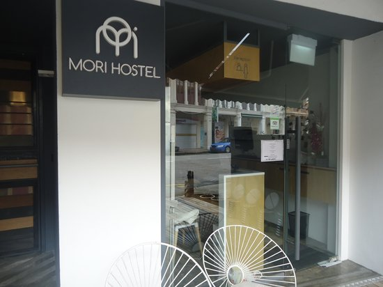 Mori Hostel: Reception Area