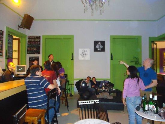 Limehouse Youth Hostel: festa no hostel
