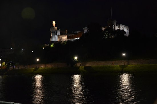 Inverness Castle from in front of Strathness House