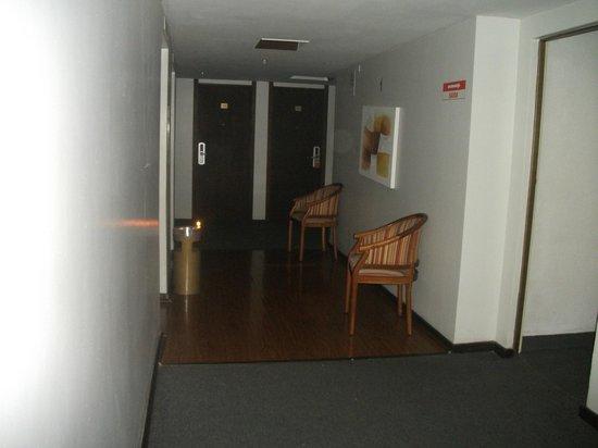 Golden Park Hotel: Sem luz