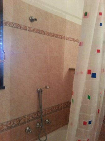 Villa la Quercia : Hand-held Sideways Shower