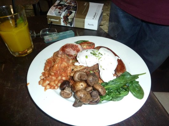 Taylor's Cafe: The Carnivore breakfast