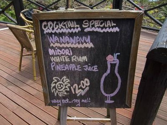 Wananavu Beach Resort: Happy hour