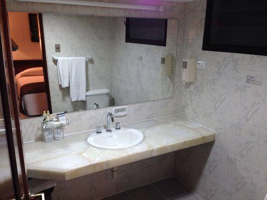 Hotel Cortez: Sala da bagno