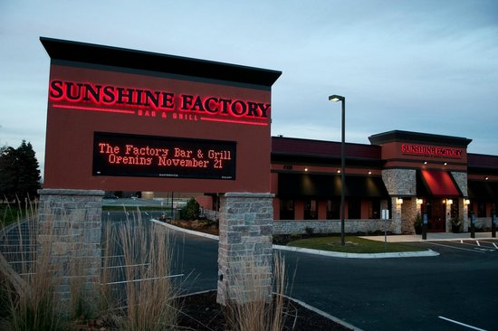 Sunshine Factory Bar Grill