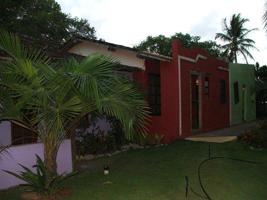 Pousada Casinhas da Bahia: casinhas vizinhas