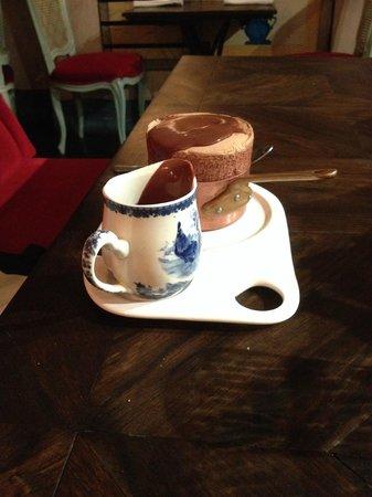 Bistro Vue: chocolate souffle