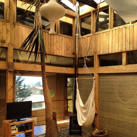 Natural Surf Lodge: Hammock to relax in...