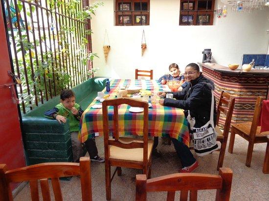 Kingdom Kichwa: desayunando