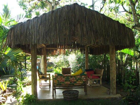 Pousada Casinhas da Bahia: área comum da pousada