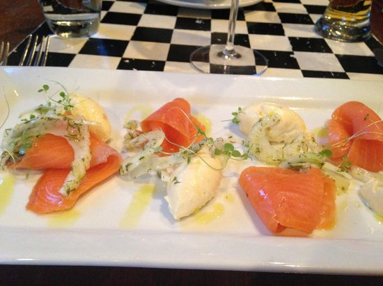Nor'Wester Cafe : Delicious Salmon Entree