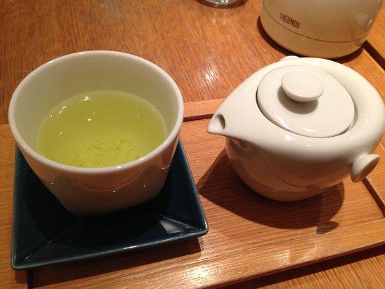 R style by 両口屋是清, 玄米茶