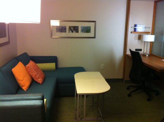SpringHill Suites Jackson Ridgeland/The Township at Colony Park: Pull out sofa