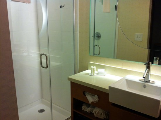 SpringHill Suites Jackson Ridgeland/The Township at Colony Park: Bathroom