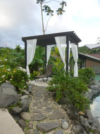 Arenal Springs Resort and Spa: Pool Cabana