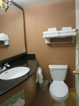 Sunset Inn and Suites: bathroom