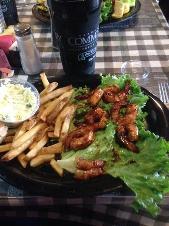 Germantown Commissary: BBQ Shrimp - 2 down & 6 to go