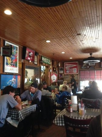 Germantown Commissary: LOeft side dining room
