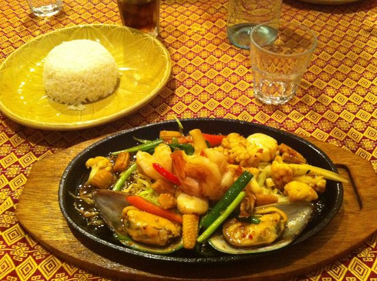 Star of Siam: Plat seafood
