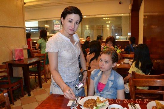 Hotel Soleil : завтрак в отеле